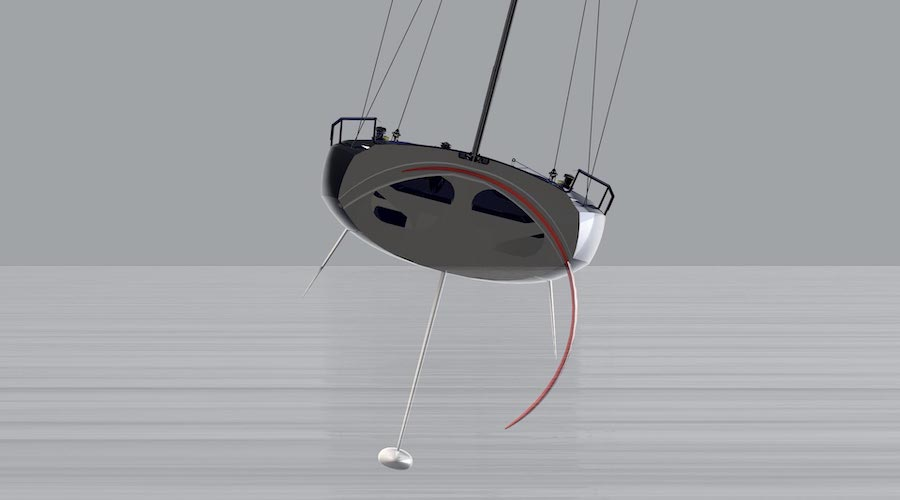 clubswan 36 foiling
