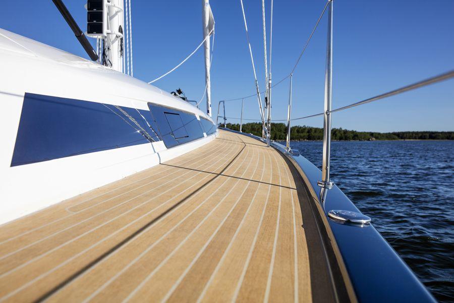 Swan 48 navigazione passavanti