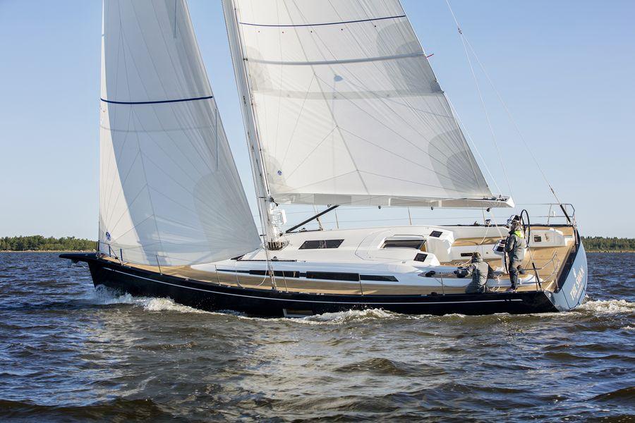Swan 48 navigazione