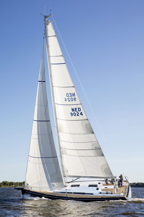 Swan 48 navigazione vela