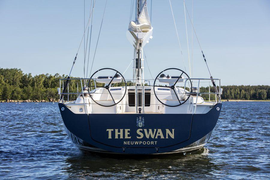 Swan 48 navigazione ancora
