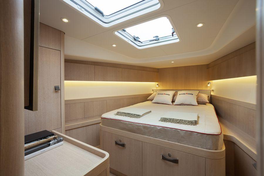 Swan 54 interni cabina