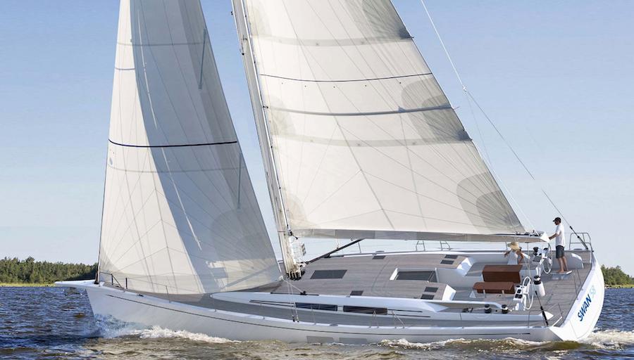 Swan 58 navigazione