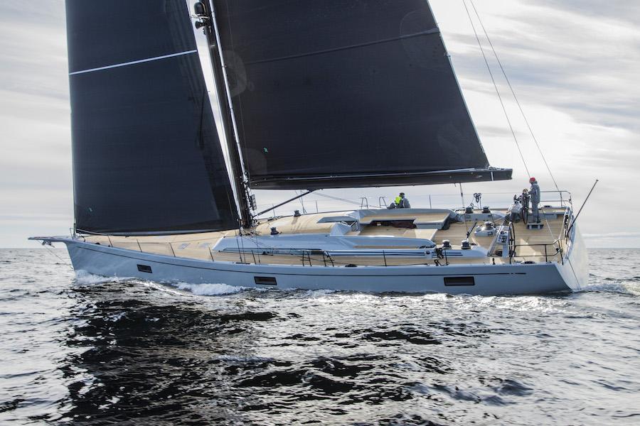 Swan 78 navigazione