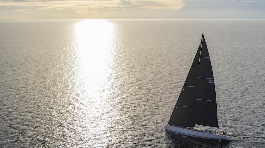 Swan 98 navigazione