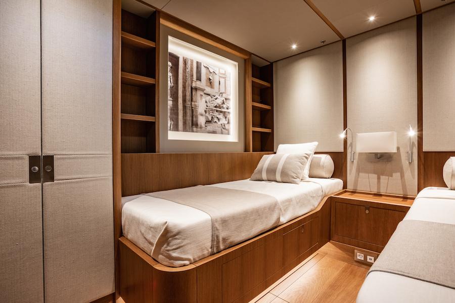 Swan 98 interni cabina
