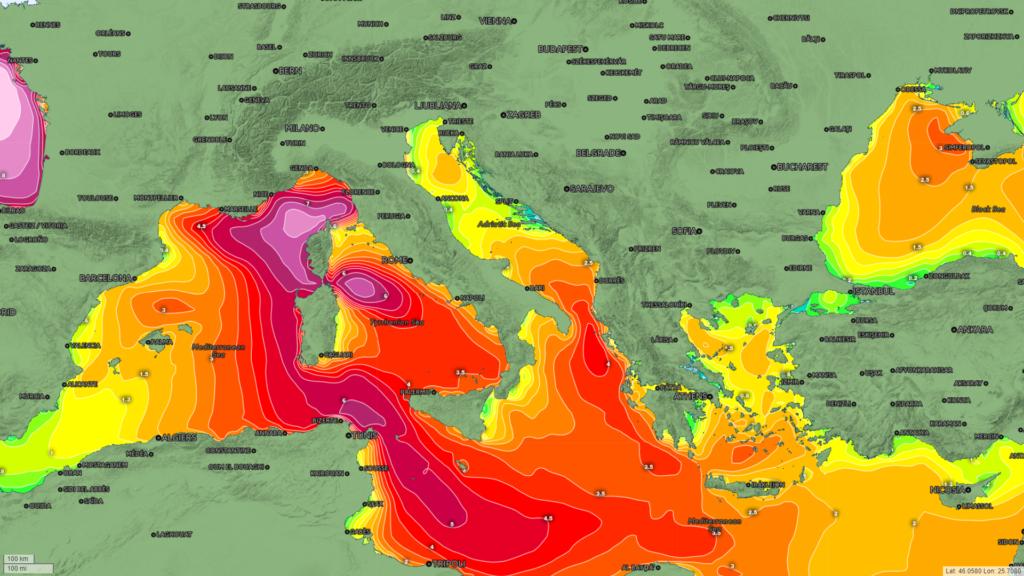 meteomed previsioni meteo cartografia