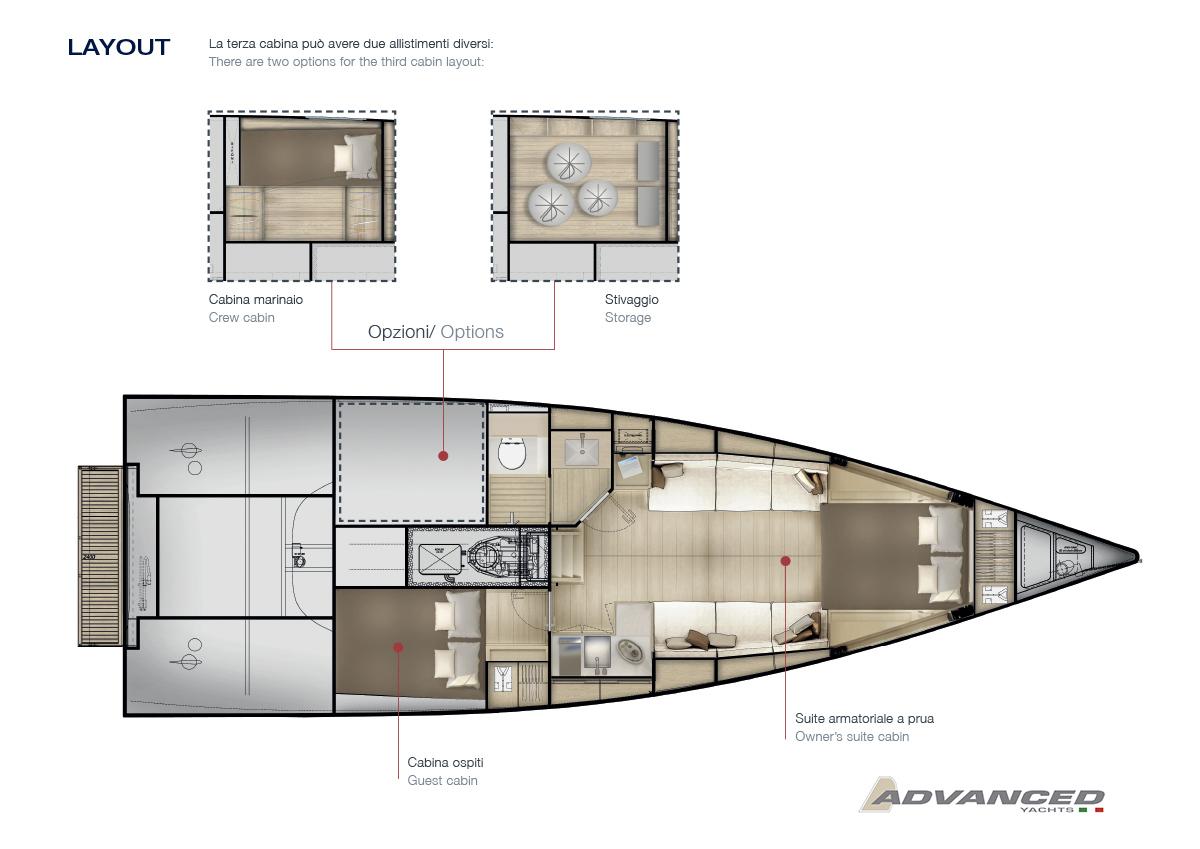 Advanced A44 layout