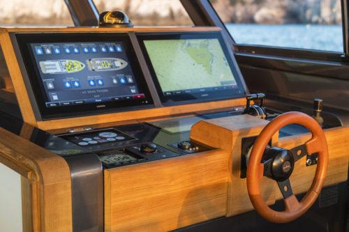 Elettronica Garmin Marine - Barche a motore di 18 metri
