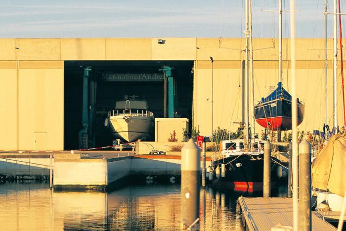 cantiere nautico Marina Sant'Andrea