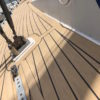 With synthetic you forget about maintenance. And it's as beautiful as teak