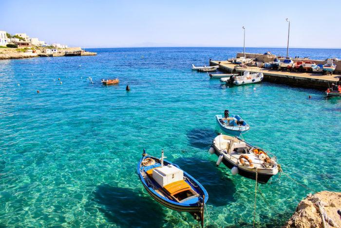 Charter barca a vela Egadi
