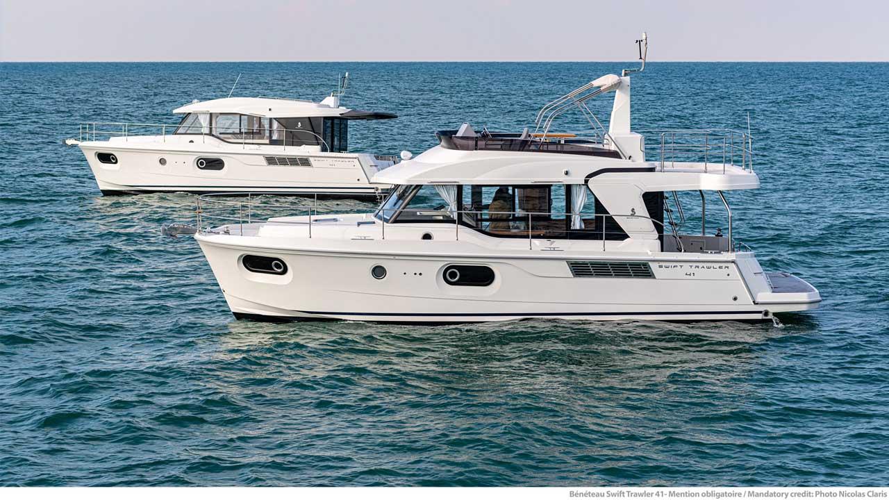 Bénéteau Swift Trawler 41 Sedan e Fly